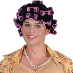 Funny Housewife Wig